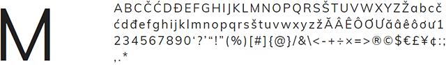muli google font