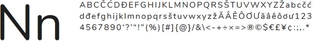 Nunito Google Font