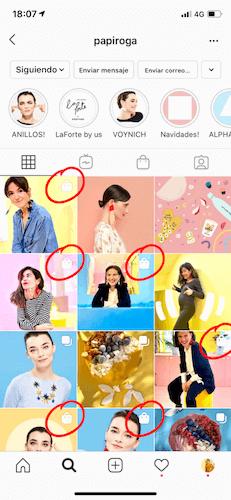 como funciona instagram shopping