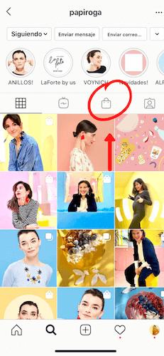 etiquetar productos en instagram