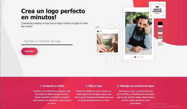 Hacer logos online