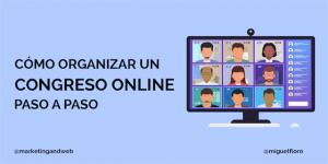 cómo hacer un congreso online