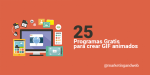 25 Programas para hacer GIFS animados GRATIS