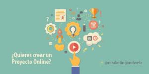 crear un proyecto online