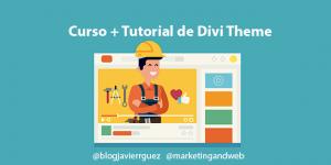 Curso de Divi Theme para WordPress – Cómo crear una página web desde cero