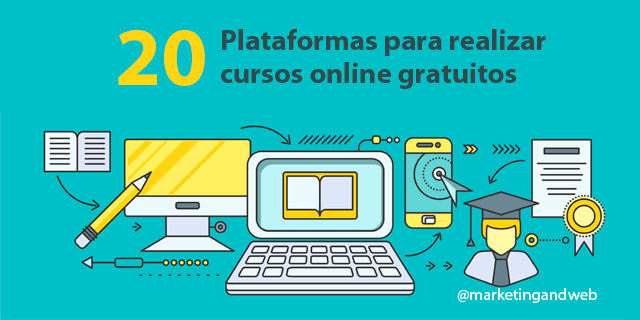 20 Plataformas Para Realizar Cursos Online Gratuitos