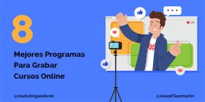 programas para grabar curso online