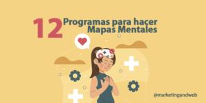 programas para hacer mapas mentales